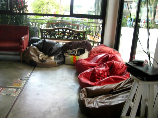 Pak-Up Hostel: Eingangsbereich