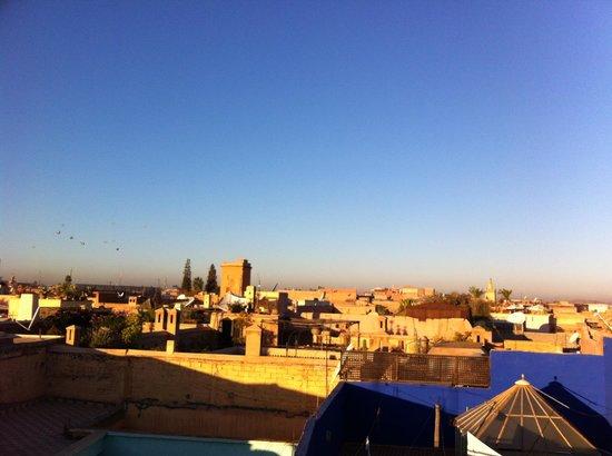 Riad Dar Tiflet : La vue du toit