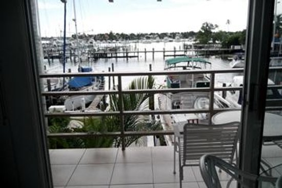 Cove Inn on Naples Bay: View from balcony