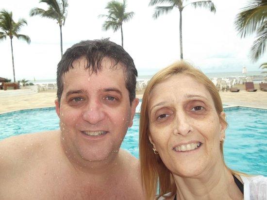 Saint Tropez Praia Hotel: O casal