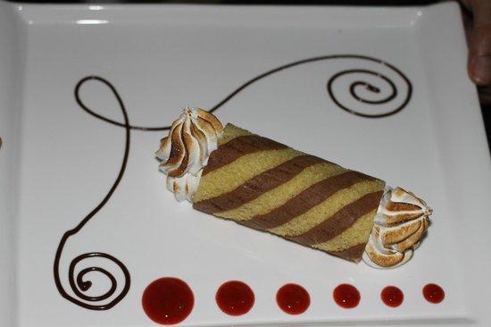 Restaurant Laguna Mar: Dessert - A Pablo special!