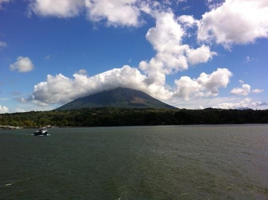 Finca Mystica: ometepe from the ferry