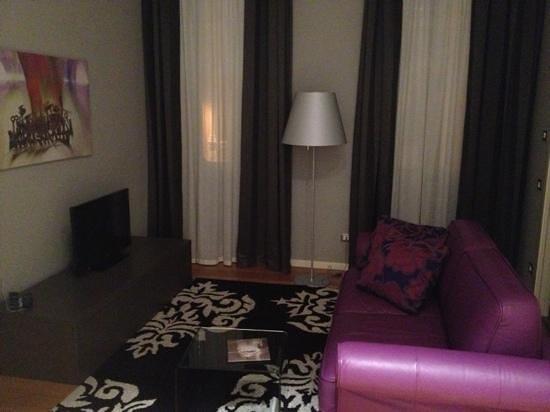 Palace Suite: salotto
