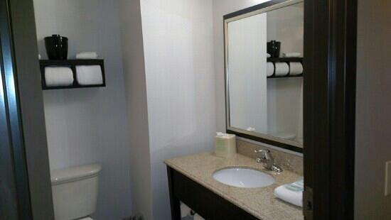 Holiday Inn Express Pittsburgh - Munhall : bath in king rm