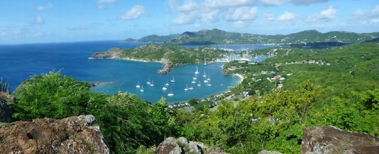 Shirley Heights: English Harbor and Freeman Bay