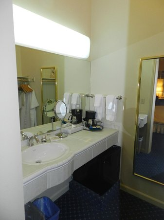 Best Western Plus Elm House Inn: Unusual 2nd Vanity