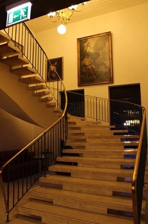 Fuerth, Germany: stairway in the lobby