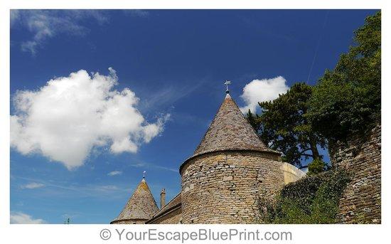 Château de Brancion : picture perfect