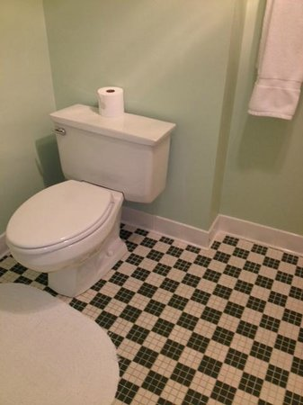 The Omni Homestead Resort: This is not a renovated bathroom!