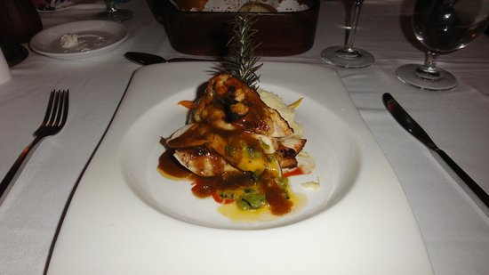 Sandals Montego Bay: Oleander - Stuff chicken