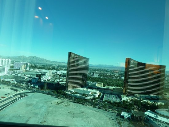 Trump International Hotel Las Vegas: Strip View from room 5109