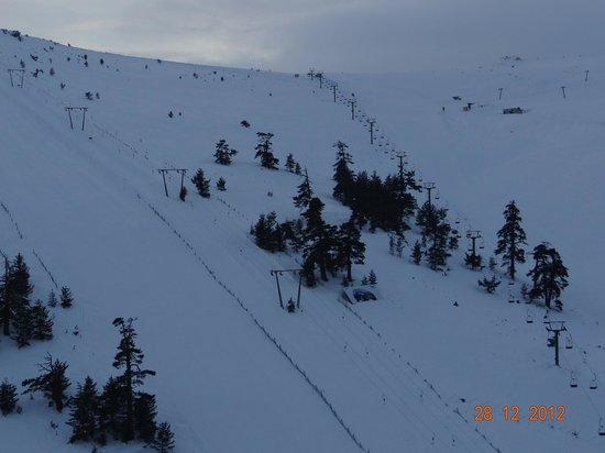 Grand Kartal Hotel: Ski Lifts from Room