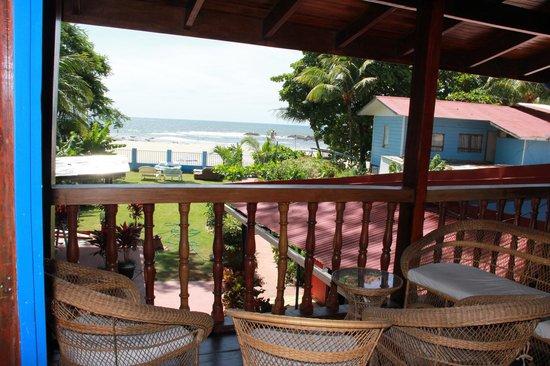 Hotel Villa Amarilla: Balcony view