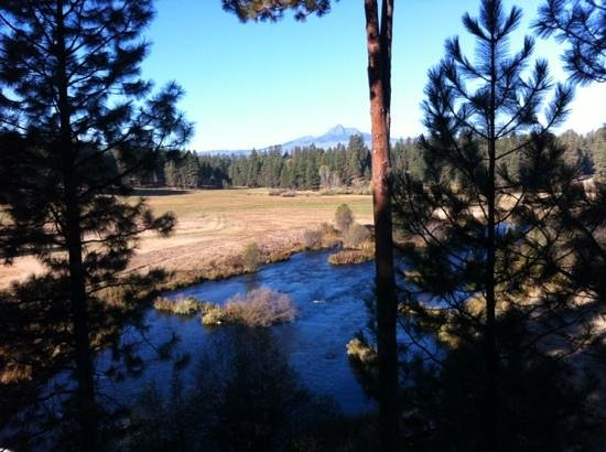 House on Metolius: from the upper deck