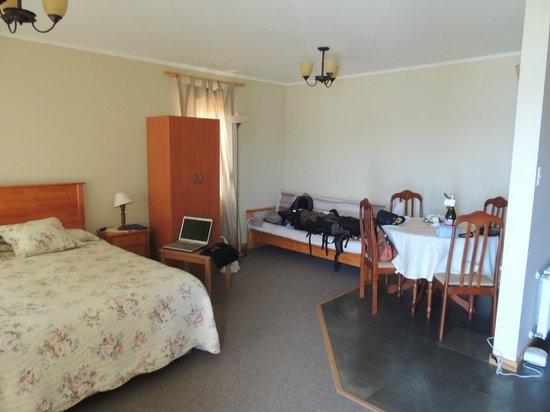 Hotel y Departamentos El Castillo de Niebla: Amplio