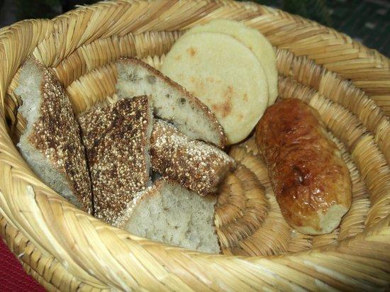 Riad Vert Marrakech: breakfast basket