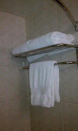 Hilton Pasadena: nice towels
