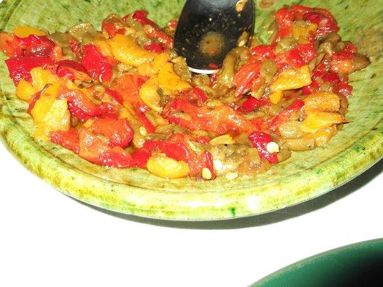 Riad Vert Marrakech: side dish from riad