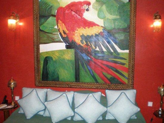 La Sultana Marrakech: Notre chambre : Perroquet