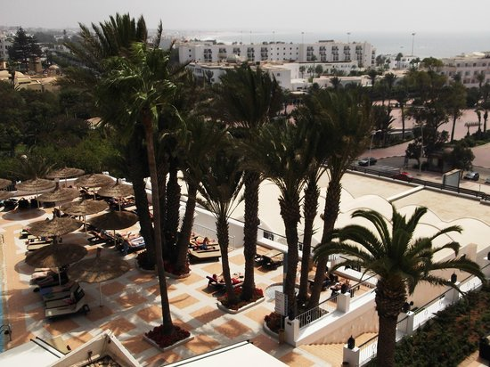 Royal Mirage Agadir Hotel: view from room