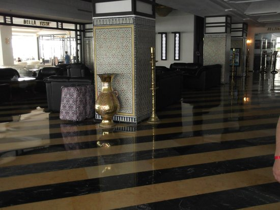 Royal Mirage Agadir Hotel: hotel lobby