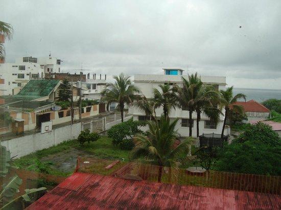 Antares Hostal: Vista desde la habitación