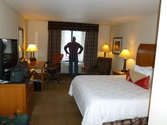 Hilton Garden Inn Missoula: Man not included :-)