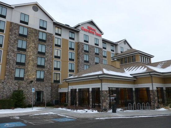 Hilton Garden Inn Missoula : Hotel in mid December