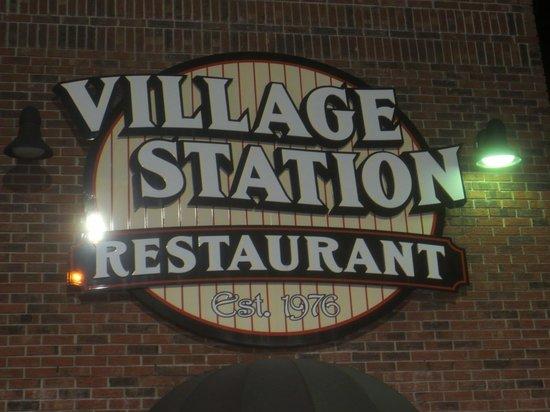 The Village Station 1893 Restaurant: Village Station Restaurant