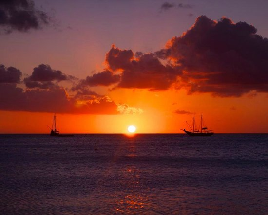 Aruba Marriott Resort & Stellaris Casino: Sunset