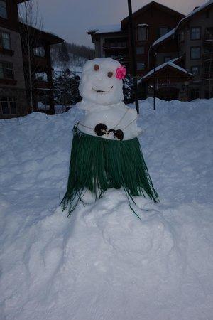Creekside at Solitude : umm...snowlady
