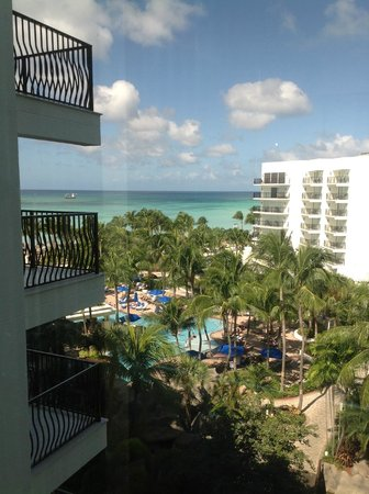 Marriott Aruba Resort & Stellaris Casino: View from Elevator