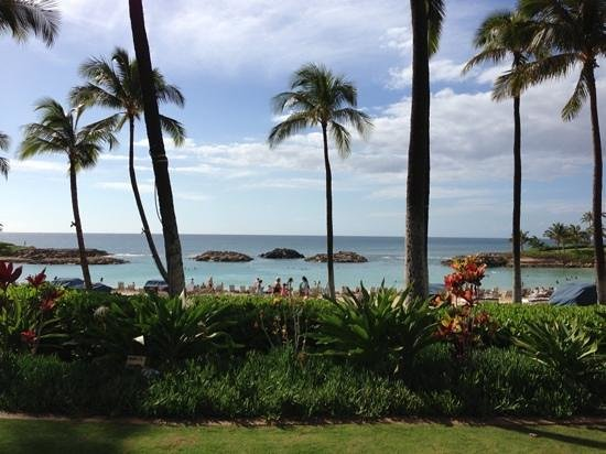 Marriott Ko Olina Beach Club: view from Longboard restaurant
