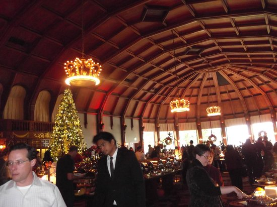 Crown Room at Hotel Del Coronado: The Crown Room