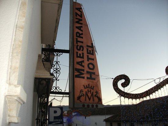 Hotel Maestranza: desde el balcón