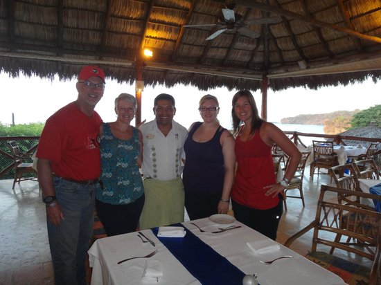 The Royal Suites Punta de Mita: Hector and the Royal Suites Restaurant