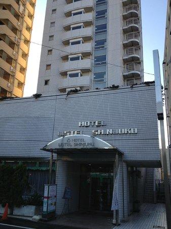Hotel Listel Shinjuku : View from street