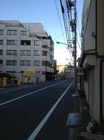 Hotel Listel Shinjuku : Street
