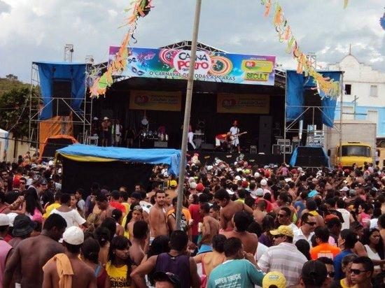 Cândido Sales, BA: CarnaPorto, evento realizado a 12km da sede