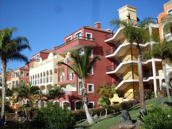 Bahia Principe Costa Adeje: Picture of the building we stayed in, ground floor