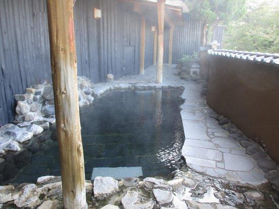 Ryokan Biyunoyado: Rotemburo; outdoors onsen