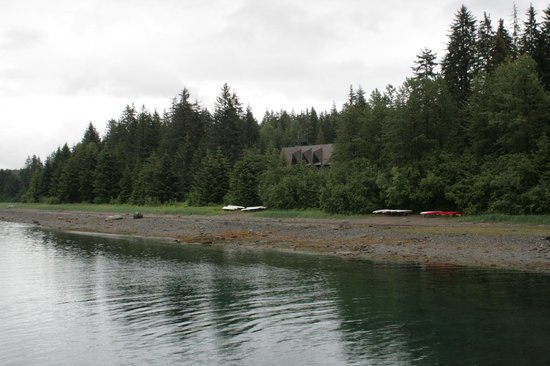 Glacier Bay Lodge: View from the docks