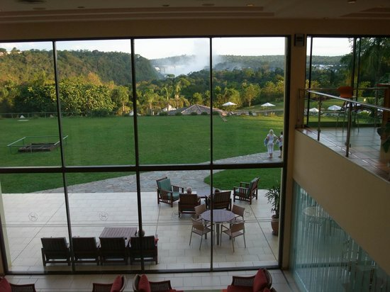Melia Iguazu Resort & Spa: View from near reception