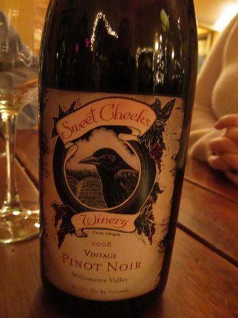 Eugene, OR: A nice bottle of Pinot