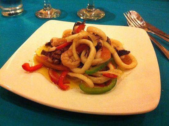 Laguna Gili Beach Resort: menu 31/12 