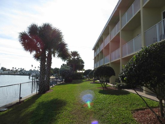 Treasure Bay Resort & Marina: Out my sliding glass door