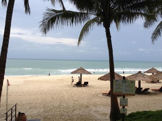 Club Med Bintan Island: lovely stretch of white sandy beach