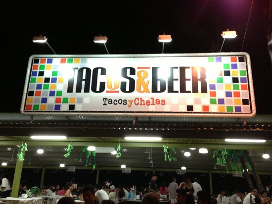 Tacos & Beer: Right in the heart of traditional Acapulco