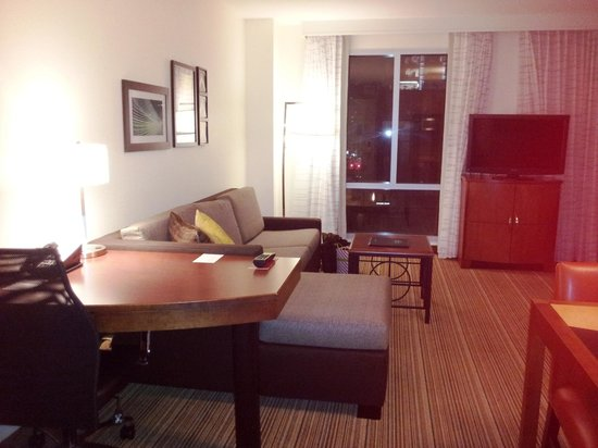 Residence Inn by Marriott Austin Downtown/Convention Center: Room with a view of downtown Austin