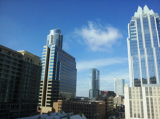 Residence Inn Austin Downtown/Convention Center: View of downtown Austin from hotel window